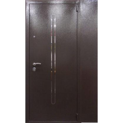 Стальная дверь ДС 2 с глухой полкой