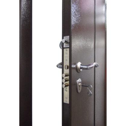 Стальная дверь ДС 2 с полкой