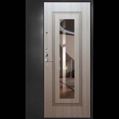 Стальная дверь ДС 2 с полкой-отделка №149