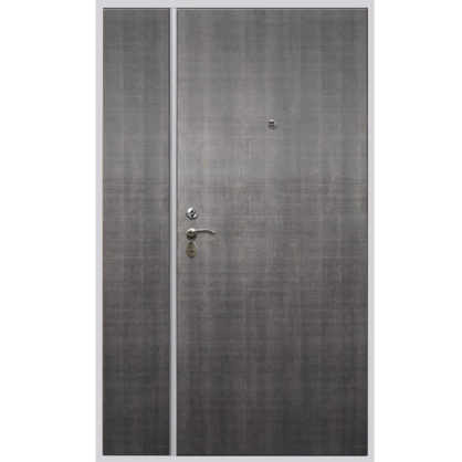 Двухстворчатая дверь ДС3 с отделкой Матрикс