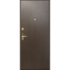 Стальная дверь ДС 2 эконом вариант
