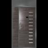 Двухстворчатая дверь ДС2 с фрамугой и панелью НЕО 01