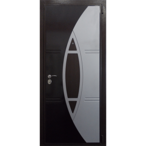 Стальная дверь ДС 3 с декоративной панелью Спарта