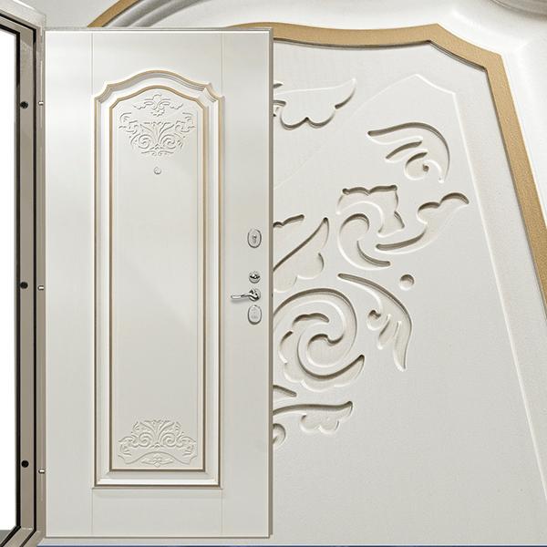 Декоративная панель Александрия 05.06 золото