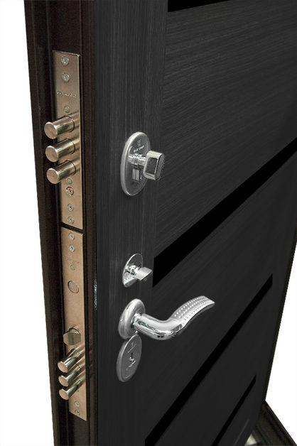 Замки на двери ДС 2 16 ЭКО венге тёмный